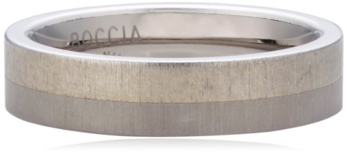 Boccia Damen-Ring Titan silber Gr.59 0115-0159