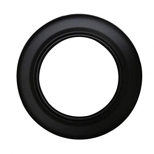 KaminoFlam® Rosette Senotherm schwarz 120 mm