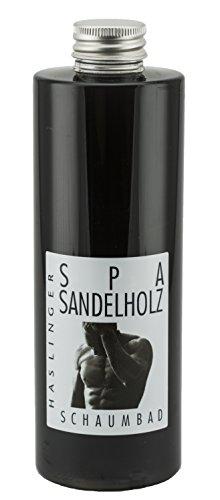 Lashuma Schaumbad Sandelholz Schaumbad for Men, Badezusatz 400 ml