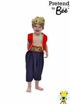 Jungen Arabian Prince Aladdin Fancy Dress Book Week Kostüm 3-5 Jahre (Aladdin Kinder Kostüme Für)
