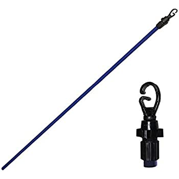 2.4m//8ft Heavy Duty Line Prop Extending Telescopic Clothes Washing Colored Prop Pole Wilsons Direct 1 x 8ft Prop