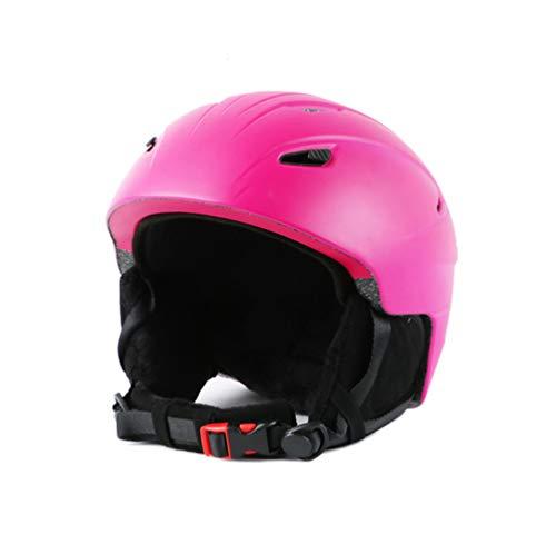 Leichter Snowboardhelm, mehrere Öffnungen, einstellbare Größe, Ski/Fahrrad/Motorrad,Pink,L