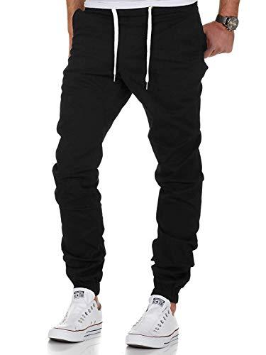 Men's Chino Jogger Pants Sweatpants Fashion Wild Casual Loose Trousers