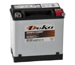 Deka - Batteria moto DEKA ETX16L / YB16L-B 12V 19Ah