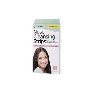6 Nu Pore cleansing nose strips cleans unclogs pores by nu-pore (Nu Strips Pore Cleansing)