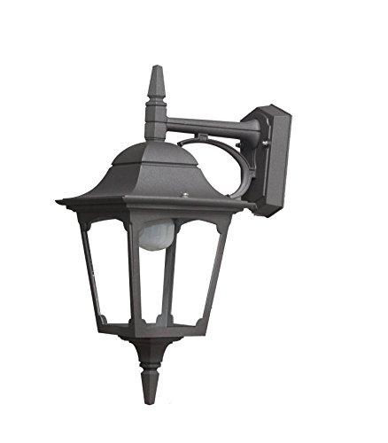 Made in Italy MAIORI MA313,1 Lanterne Lampe Murale applique éclairage pour jardin en aluminium produite en Italie par Valastro Lighting blanc