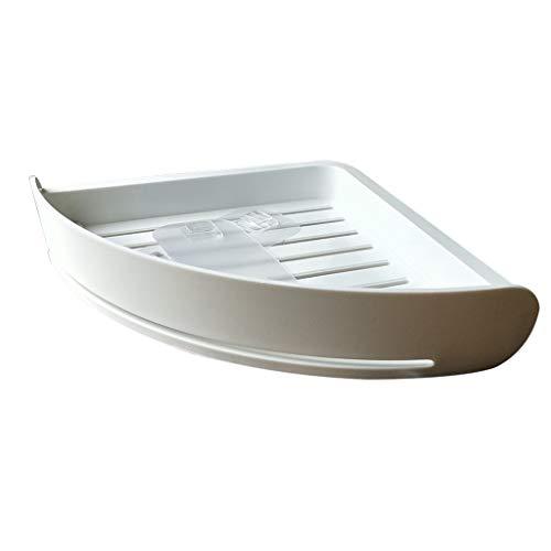 Duschregal mit Abnehmbarem Haken Duschablage ohne Bohren Dreistöckige Badregal aus Aluminium Duschkorb 1 Stück für Badezimmer und Küchen