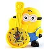 Party Nasha Minion Piggy Bank Table Alarm Clock, Desk Clock For Kids Room And Home Decor (Minion With Guitar) Coin Bank