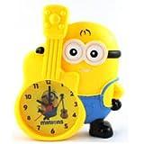 #9: Party Nasha Minion Piggy Bank Table Alarm Clock, Desk Clock for Kids Room and Home Decor (Minion with Guitar) Coin Bank