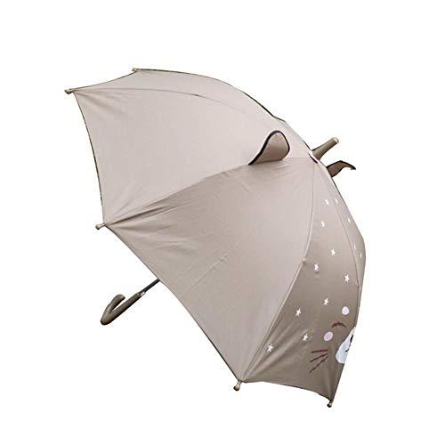Cartoon Pop Up Regenschirm für Kinder Nette Katze 3D Pop-Out Ohren Stock Regenschirme, einfach zu öffnen und zu schließen, großes Geschenk für Kinder jeden Alters -
