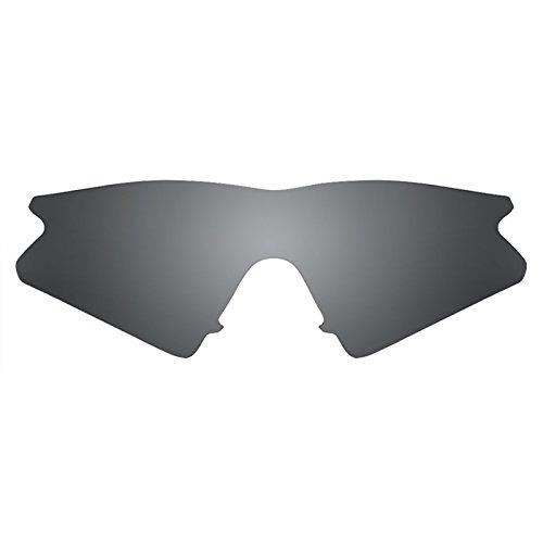 Revant Ersatzlinsen für Oakley M Frame Sweep Polarisierung Elite Schwarz Chrom MirrorShield®