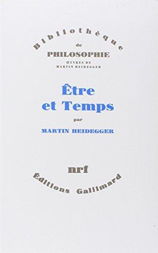 Être et Temps par Martin Heidegger