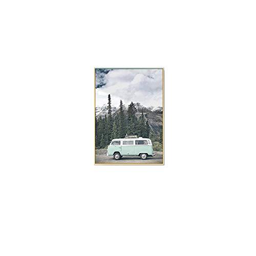 Preisvergleich Produktbild Wohnzimmer Dekorative Malerei,  Landschaft Moderne Wandgemälde,  Nordische Malerei,  Sofa Hintergrund Wandmalerei,  Dreibettzimmer Schlafzimmer Esszimmer Malerei Eine 40 * 50