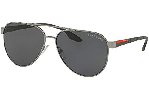 f16cb0cd43 Prada Linea Rossa 0PS 54TS Gafas de sol, Gunmetal, 58 para Hombre