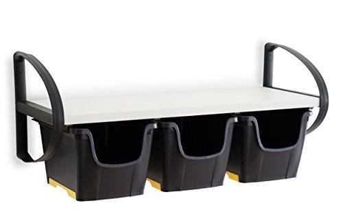 Preisvergleich Produktbild Toomax Art. 746 DIY Wow Wallbox Wandregal, Weiß / Schwarz