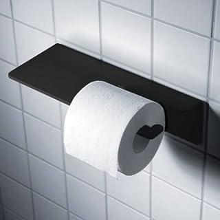 Radius Puro Toilettenpapier Halter schwarz WC-Papierhalter 906 A