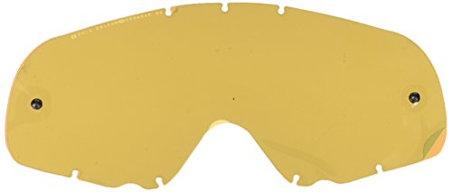 Oakley - Masques de moto cross - Mx crowbar Mixte - One icon pink Clear lexan Black Iridium Lexan