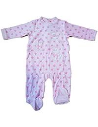 Patrulla Canina Pijama Pelele para Bebe niña Color Rosa con Bordados