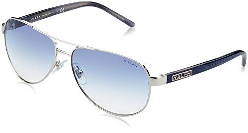 Ralph Lauren Purple Label Damen RA4004 102/19 Sonnenbrille, Silber (Light Silver), One size (Herstellergröße: 59)