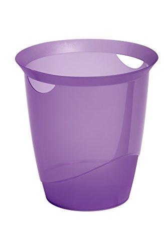 Durable 1701710992 Papierkorb Trend, transluzent lila