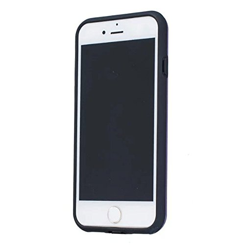 JIALUN-Telefon Fall Solid Color Shock Back Cover Telefon Fall für Apple IPhone 7 4,7 Zoll ( Color : Black , Size : IPhone 7 4.7 Inch ) Purple