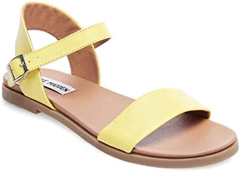 Steve Madden Wouomo Dina giallo Sandal 8.5 US | Forma elegante  | Uomini/Donne Scarpa