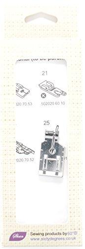 Kompatibel 1/10,2cm Presser Fuß (Quilting Fuß nahtzugabe-1/10,2cm) von 60° ® TM (Presser Fuß Für Kenmore)