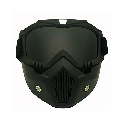 AnazoZ Gafas Moto Gafas Casco Gafas Montar Gafas Protectoras