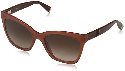 Max Mara MM Modern IV V6 1PP 55 Occhiali da Sole, Rosa (Opal Pink Red/Brown SF), Donna