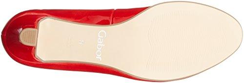 Gabor Basic, Scarpe con Tacco Donna Rosso (Red)