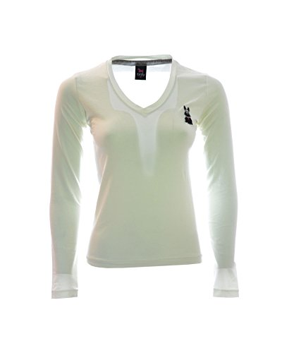 TIRDY T-shirt donna con disegno ricamato (M)