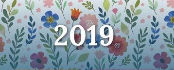Calendrier 2019 - Feminae - format A4 - Papier épais - prévu pour l'écriture.