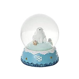Schneekugel Eisbär Weihnachtsdekoration