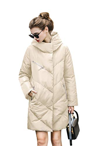 Jacke Mantel Damen Winter Parka Jacke Damen Daunenjacke Wintermantel Damen Winter Winddichte...