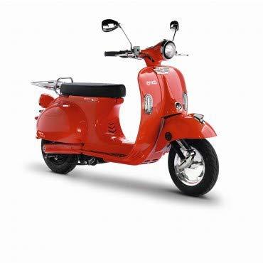 Emco Nova R 2000 Elektro-Roller (2x Akku 28Ah ; Controller 1.0), Farben:Rot