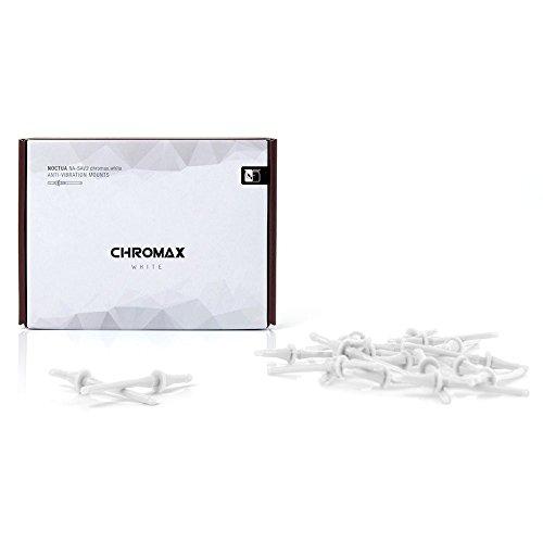 Noctua Chromax NA-SAV2 Cuscinetti Anti-Vibrazione, Bianco