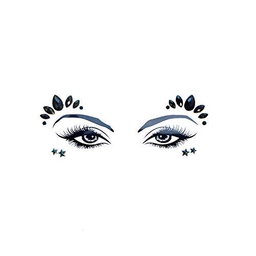 Neva Gesichtsaufkleber, Motiv Magic Pixie Crystal In Your Face Edition (Die Schatztruhe Juwelen)