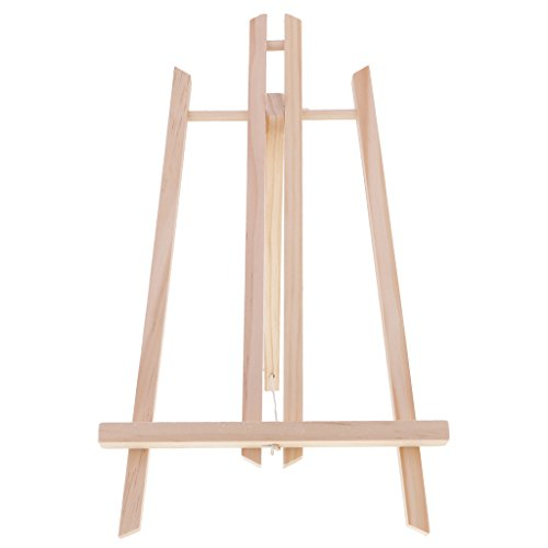 Sharplace Mini Holz Display Staffelei Tischestaffelei Für Malerei, Handwerk, Zeichnung, Foto usw. (Tabletop-foto-staffelei)