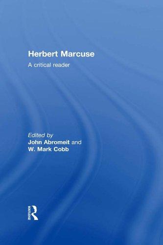 Herbert Marcuse: A Critical Reader