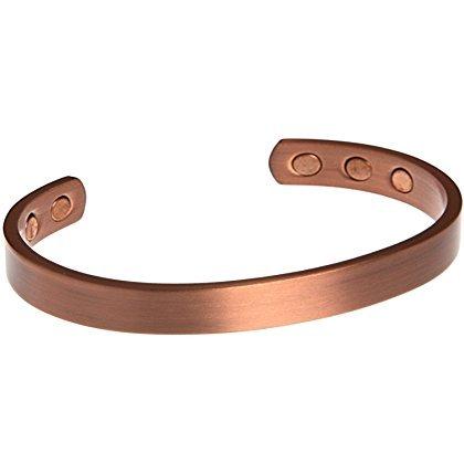 Kupfer-Armbänder bei Arthritis, magnetische Therapie, mit Schmerzlinderungsmagneten