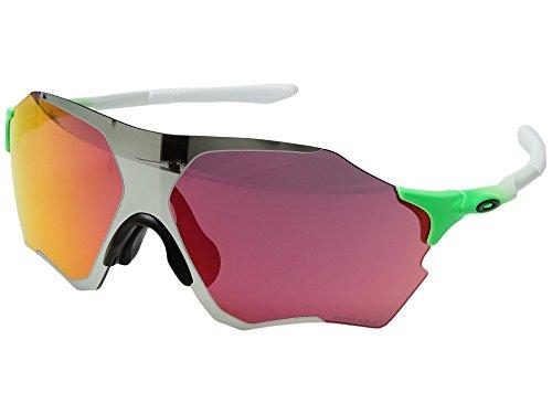 Oakley Unisex (A) Evzero Range Green Feld/Chrome Iridum Sunglasses