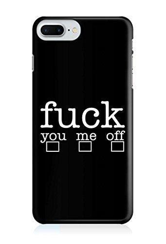 COVER fuck you me off Handy Hülle Case 3D-Druck Top-Qualität kratzfest Apple iPhone 7 Plus