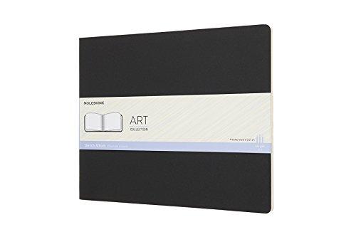Moleskine Skizzenalbum, XXlarge, 120G-Papier, Kartoneinband, Schwarz