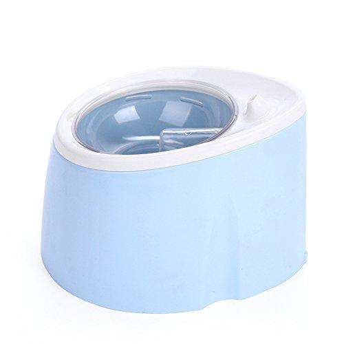 WENXX Agua para Mascotas, Dispensador De Agua De Oxígeno Fuente De Bebida De Circulación Automática para Mascotas, Hervidor De Agua con Dispensador De Agua Eléctrico De Filtro,Blue