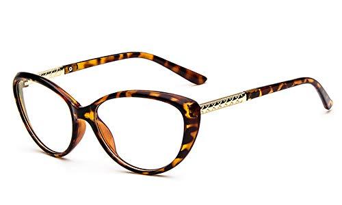 Huateng HT New fashion persönlichkeit cat eye brillen rahmen retro kleine frische brillengestell kann mit myopie flacher spiegel ausgestattet werden