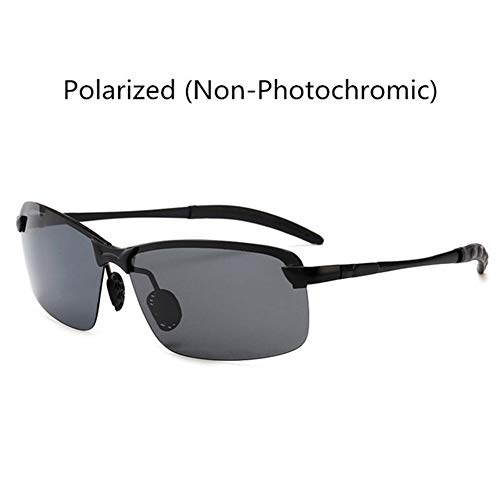 VIWIV Photochrome Alloy Polarized Sonnenbrillen Für Herren-Farbwechselbrillen Nachtsicht-Sonnenbrillen Nachtsichtbrillen,1