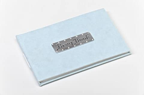 Baby's Brag Book - Blue pocket sized 6x4 inch photo