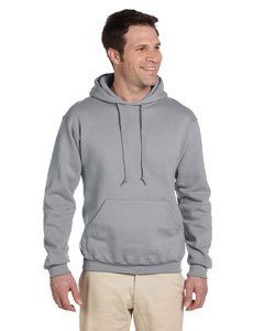 Jerzees SUPER SWEATS - Pullover Hooded Sweatshirt. 4997M - Oxford_2XL Jerzees 4997 Hoodie Sweatshirt
