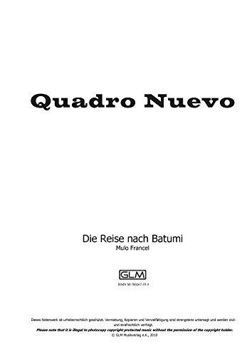 Die Reise nach Batumi: sheet music for instruments in Bb upper part (English Edition) (Reise-instrument)