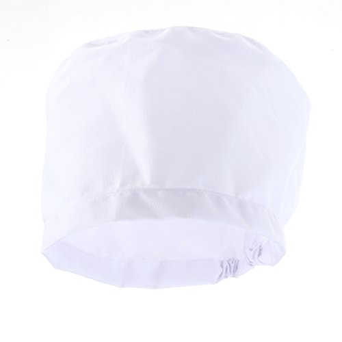 LUOEM Scrub Cap Chirurgische Cap Unisex Runde Cotton Doctor Krankenschwester Cap Chirurgie Hut (Weiß)